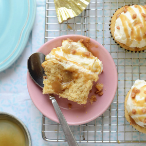 Wonderful Cupcake Recipes From Scratch For These Yummy Brown Sugar Butterscotch Cupcakes