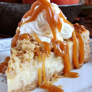 A Caramel Apple Crisp Dessert,This Is One Of Those Yummy Cheesecake Recipes