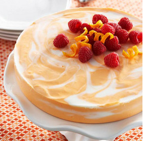 Do You Love Cheesecake Recipes ?Then Why Not Try This Orange Swirled Cheesecake.. Diabetic Friendly Dessert