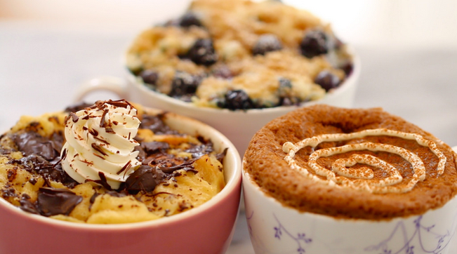 3 Great Ideas For Breakfast In These Microwave Mug Recipes
