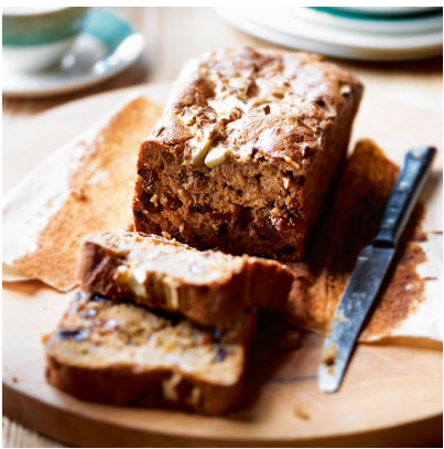 Apple And Honey Tea Loaf