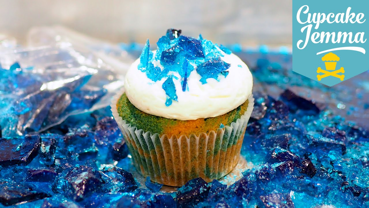 A Great Cupcake Recipe On Making Breaking Bad Blue Magic Cupcakes