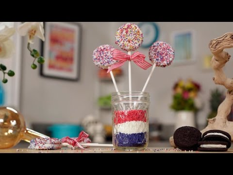 Patriotic Oreo Pops Recipe For 4th of July