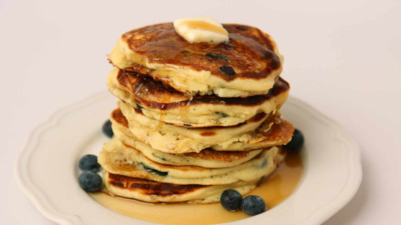 Wonderful Homemade Blueberry Pancake Recipe