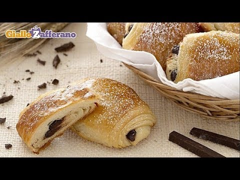 Lovely French Pastries ..The Pain au chocolat