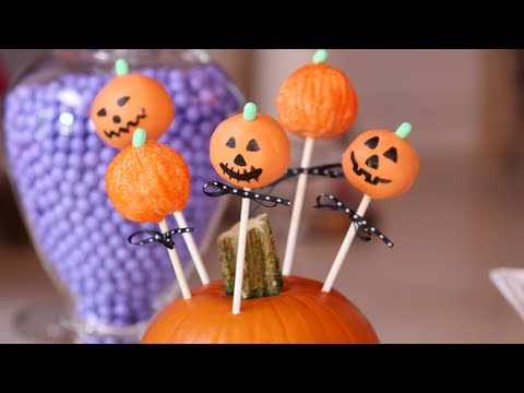 Need Some Halloween Ideas For A Party ..How About Cake Pops