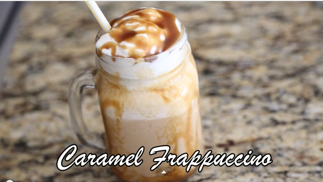 A Great Recipe On How To Make Caramel Frappuccino Like Starbucks