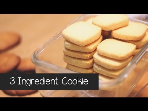 How To Make 3 Ingredient Cookies in 3 Minutes
