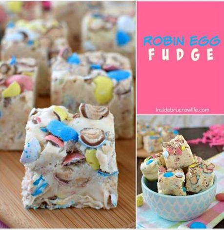 Robin Egg Fudge