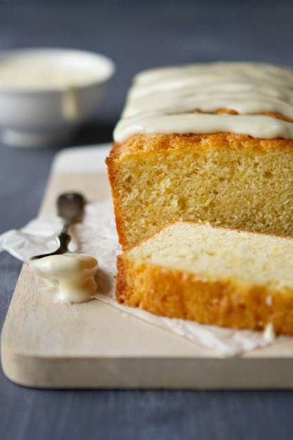 This Meyer Lemon Cake is sure to brighten your day!Recipe here: http ...