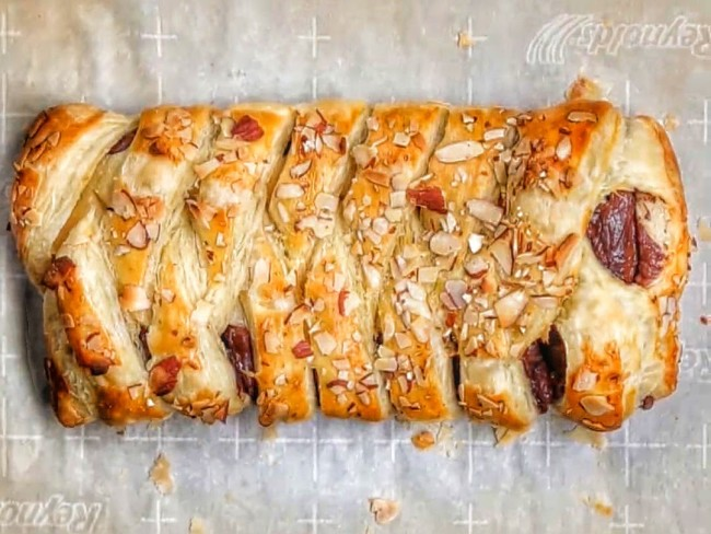 Easy To Make Chocolate Almond Braid - Afternoon Baking With Grandma
