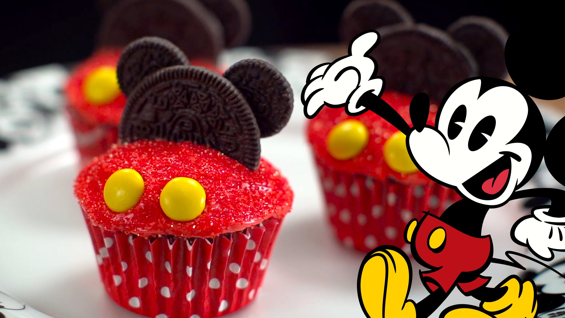 How To Make Mickey Mouse Cupcakes A Sprinkle Of Magic Dust