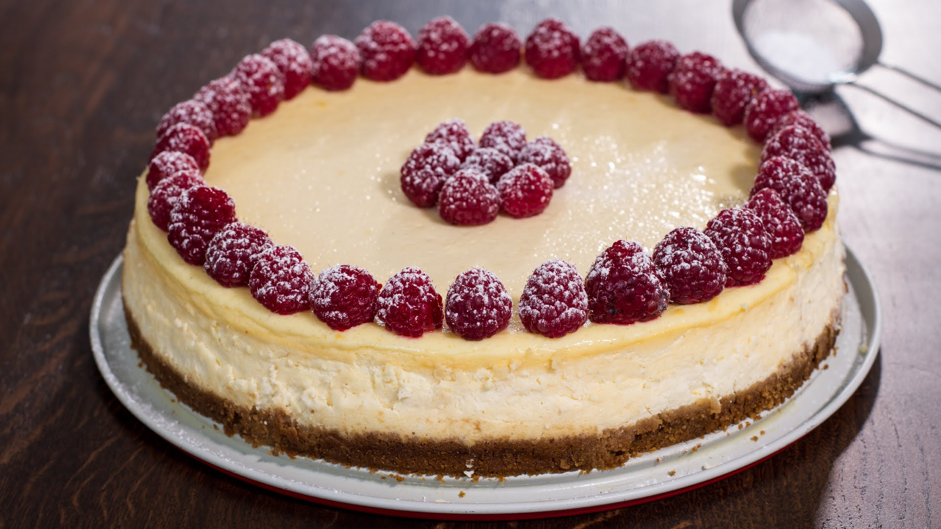 The Classic Cheesecake Recipe - Afternoon Baking With Grandma