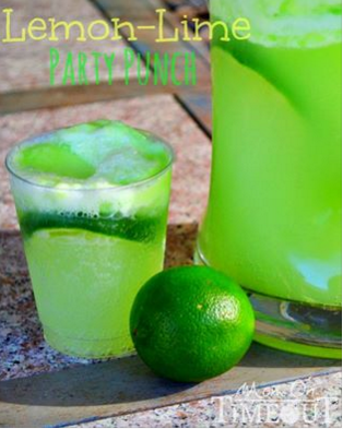 how to make lime punch