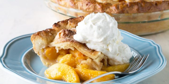 How To Make The Perfect Peach Pie