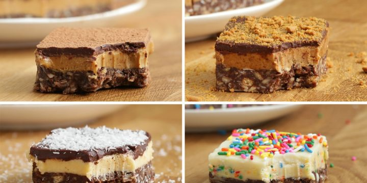 Nanaimo Bar Brownies Recipe — Dishmaps