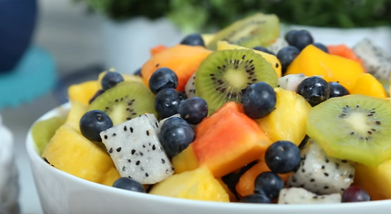 Baked fruit salad recipes easy