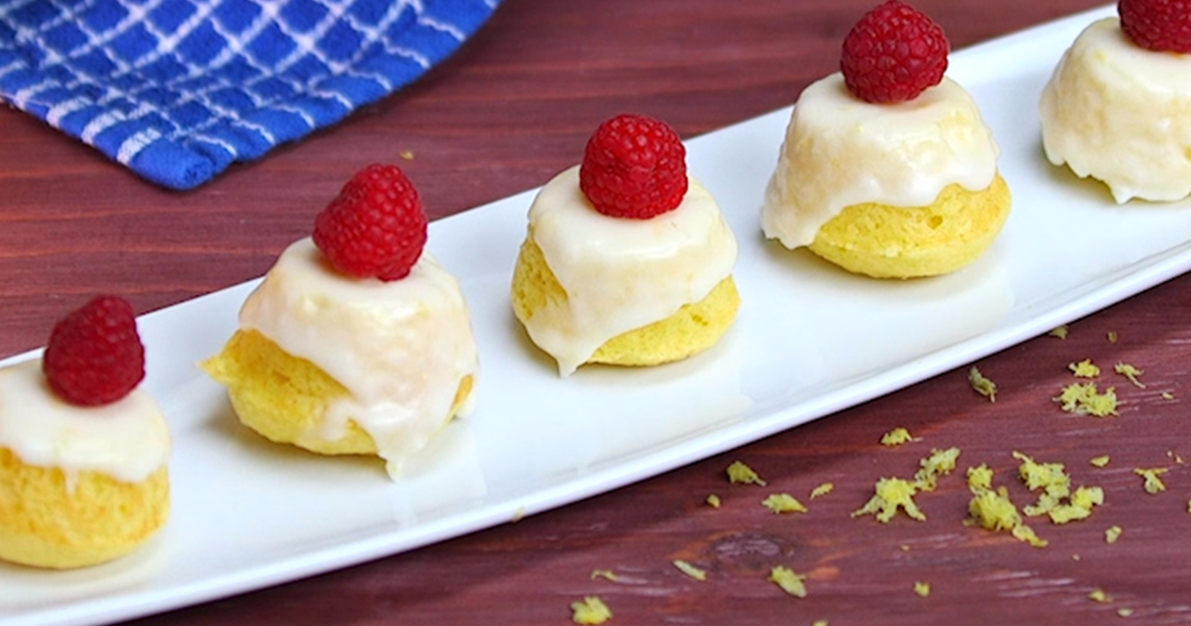 Little Lemon Drop Cakes