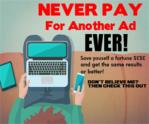 Try this and never pay for another ad again