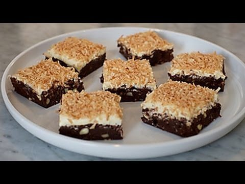 Toasted Coconut Brownies