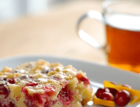 This Cranberry Orange Cake Is Simply Delicious