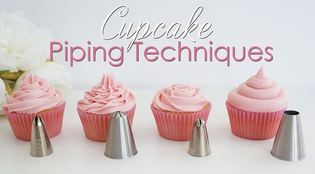 Learn All About Cupcake Piping Techniques- Tutorial