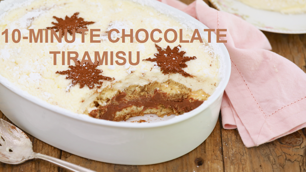 chocolate tiramisu recipe