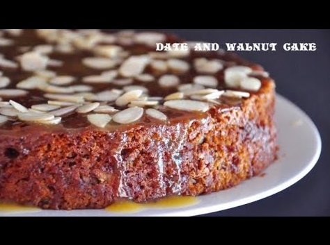 Possibly the Best Ever Date and Walnut Cake-You Decide