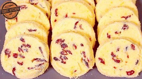 Learn How To Make Cranberry Shortbread Cookies
