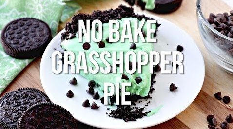Now You Can Make This No-Bake Grasshopper Pie