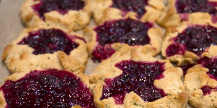 Blackberry Jam Thumbprint Cookies Recipe