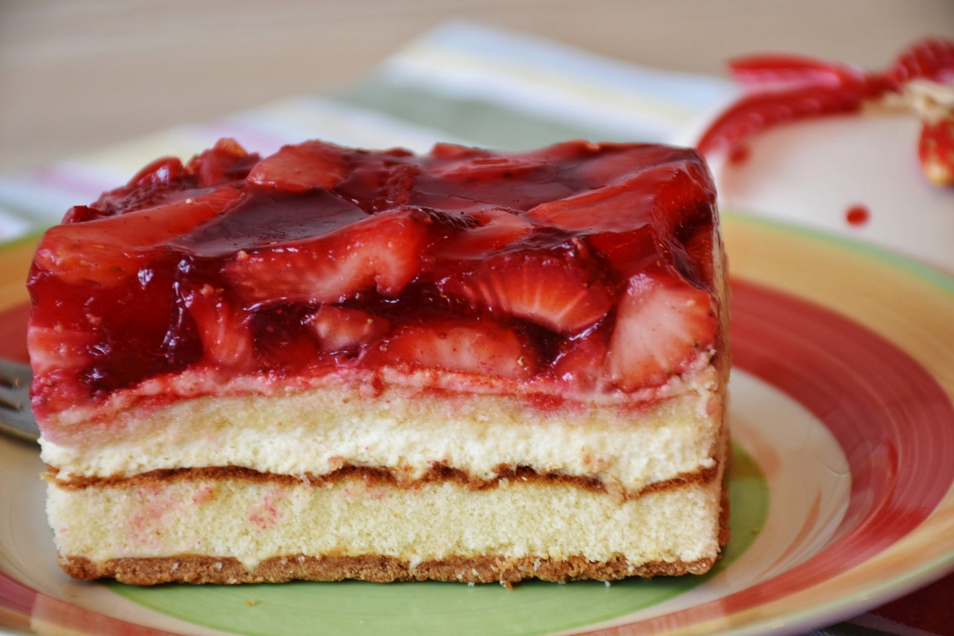 Enjoy Some Strawberry Vanilla Cheesecake