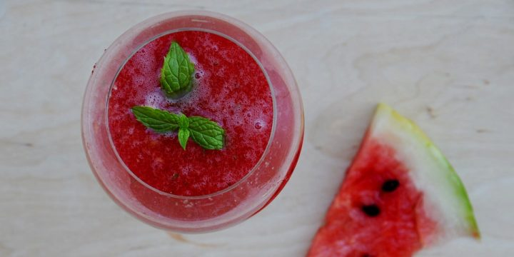 2 Ingredient Watermelon Smoothie Recipe