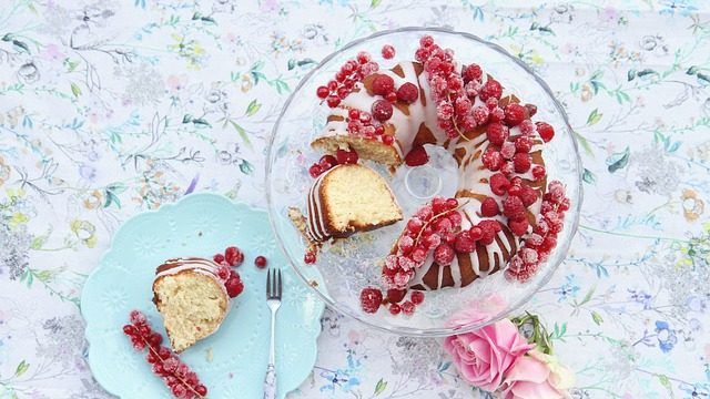 White Chocolate Raspberry Bundt Cake Recipe