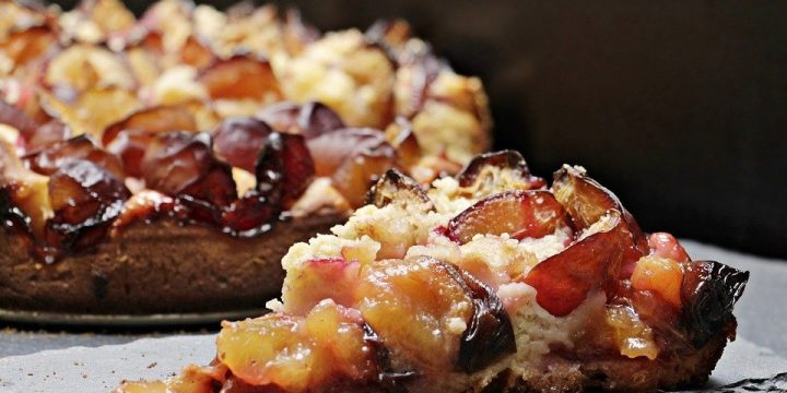 Plum Streusel Coffee Cake Recipe