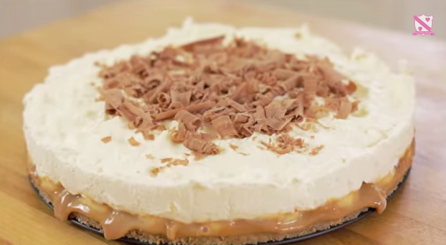 A Yummy Looking Banoffee Pie Recipe By In The Kitchen With