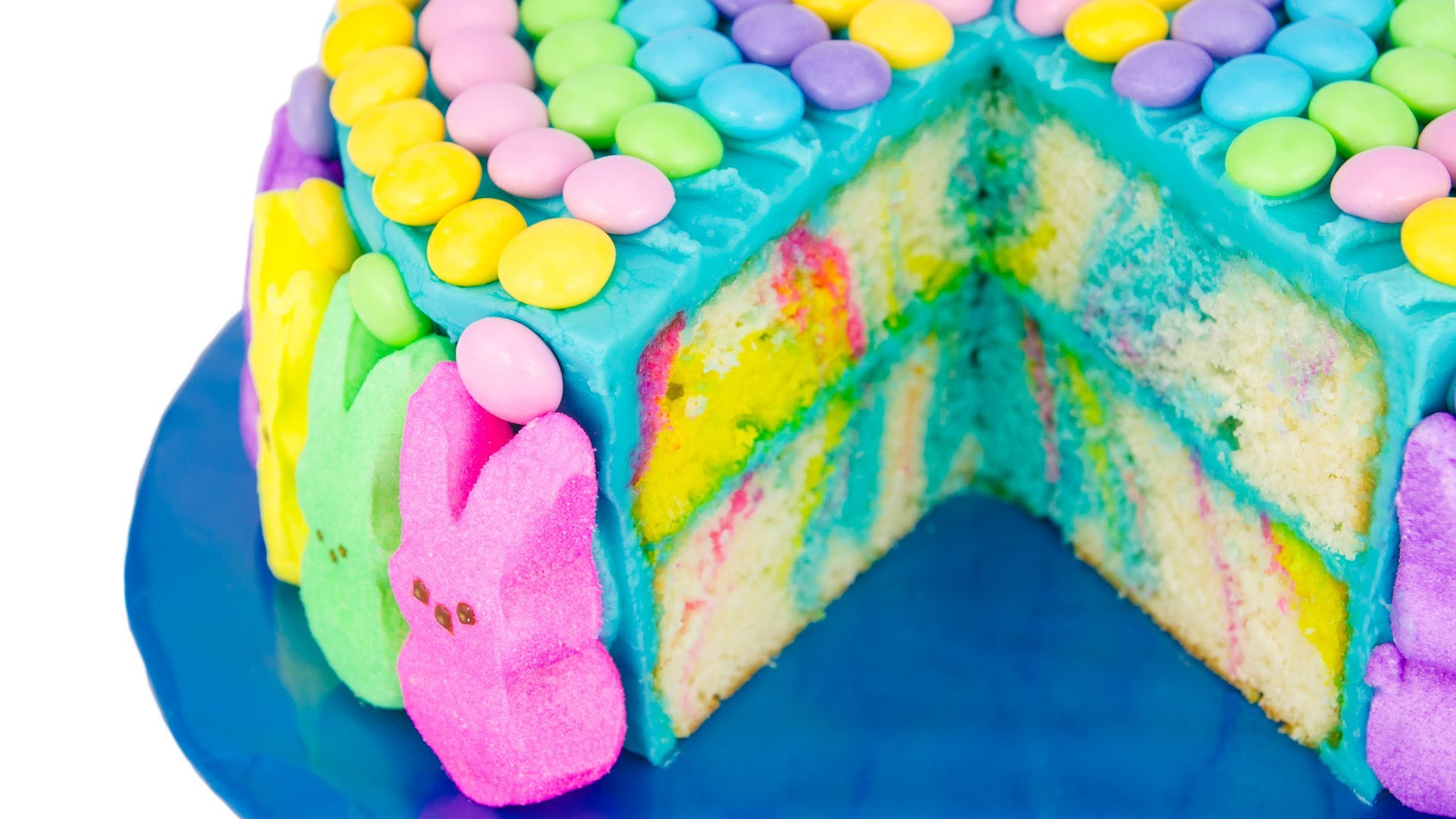 Marbled Easter Cake