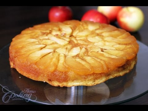 What An Amazing Looking Apple Cake Recipe For This Upside Down Cake