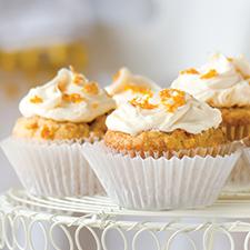 Wonderful Looking Clementine Vegan Cupcakes
