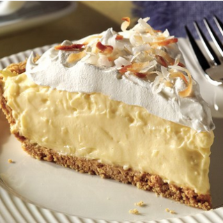 A Really Easy To Make Creamy Coconut Cream Pie