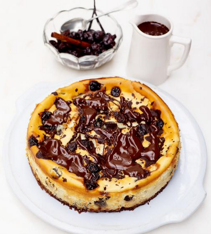 The Best Cherry & Chocolate Cheesecake Recipe Ever