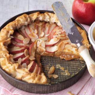 A Deliciocus Apple Tart Recipe Is This Apple Toffee Tart