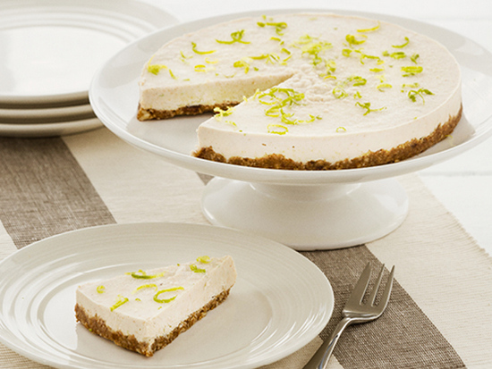 A Really Wonderful No Bake Vegan Lime Cheese Cake Recipe