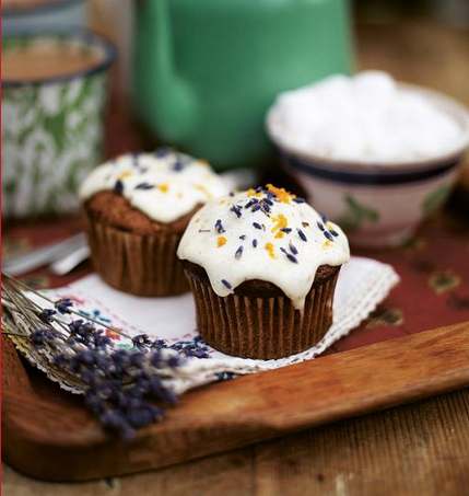 Delightful Looking Butternut Squash Muffins With A Frosty Top