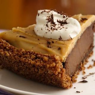 A Delightful Gluten-Free Double Chocolate Peanut Butter Pie
