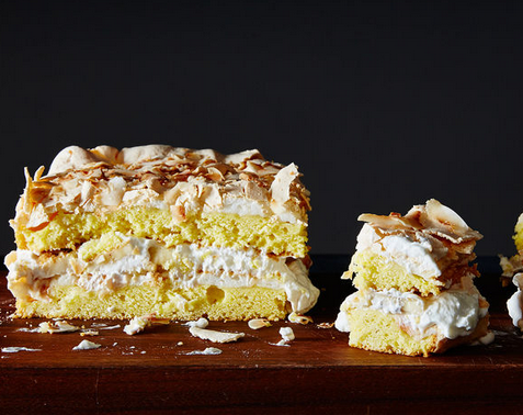 So Delicious Is This Banana & Coconut Cake Recipe