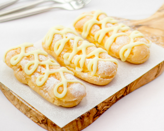 A Delightful Choux Pastry Recipe For These Yummy Lemon Eclairs