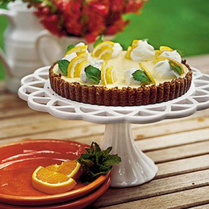 Quick And Easy Desserts Are Great For The Summer So Here Is A Refreshing Double Citrus Icebox Tart
