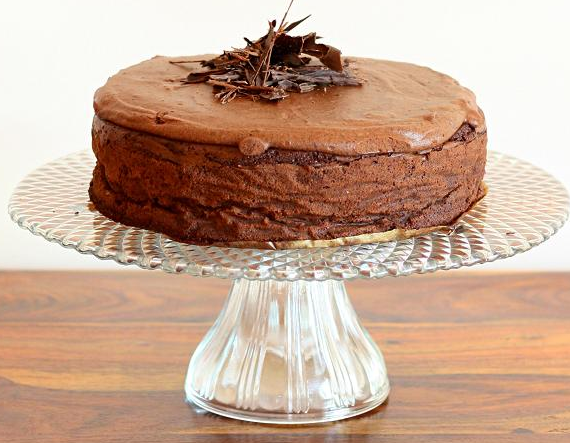 A Divine Double Chocolate Mousse Cake That Is Diabetic Friendly