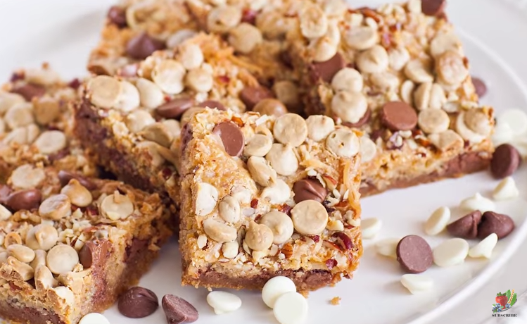 Wonderful Magic Cookie Bars Are These Chocolate Coconut Cookies